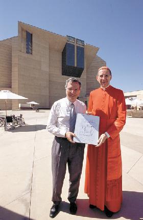 """<!--:es-->""""ES LA CATEDRAL DEL PUEBLO"""".- Entrevista con el Cardenal Rogelio Mahony<!--:-->"""