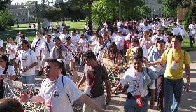 <!--:es-->JÓVENES DE LA ARQUIDIÓCESIS DE LOS ANGELES VIVENCIARON EL I ENCUENTRO NACIONAL DE PASTORAL JUVENIL HISPANA<!--:-->
