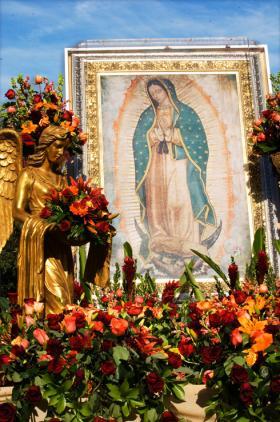 <!--:es-->PROCESIONES Y FESTIVIDADES PARROQUIALES EN HONOR A LA VIRGEN DE GUADALUPE<!--:-->