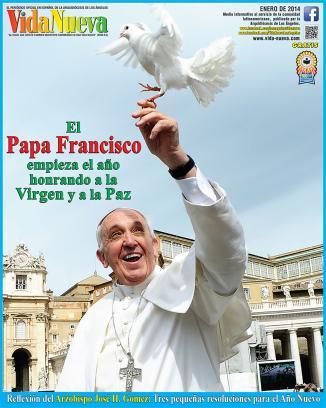 <!--:es-->EL SANTO PADRE CELEBRA LA PRIMERA MISA DE 2014 EN HONOR A LA VIRGEN<!--:-->