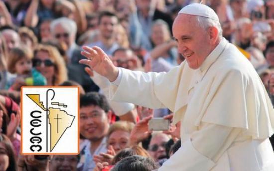 <!--:es-->PAPA FRANCISCO RECIBE INVITACIÓN DEL CELAM PARA VISITAR AMÉRICA LATINA<!--:-->