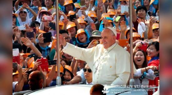 <!--:es-->PAPA FRANCISCO: LA IGLESIA EN COREA DEL SUR TESTIMONIA LA IMPORTANCIA DE LOS LAICOS<!--:-->