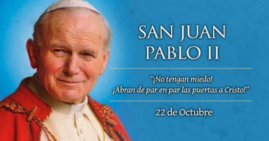 <!--:es-->HOY CELEBRAMOS POR PRIMERA VEZ A SAN JUAN PABLO II, EL PAPA DE LA FAMILIA<!--:-->