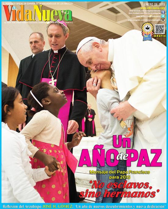 <!--:es-->QUE 2015 'SEA UN AÑO DE PAZ', PIDE EL PAPA FRANCISCO<!--:-->