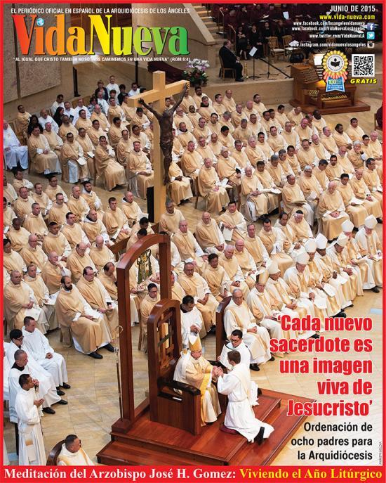 <!--:es-->EL ARZOBISPO JOSÉ H. GOMEZ ORDENA A OCHO NUEVOS SACERDOTES<!--:-->