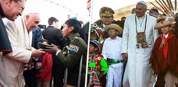 LOS NIÑOS QUE CONMOVIERON AL PAPA FRANCISCO EN SU VIAJE A SUDAMÉRICA