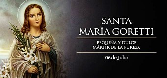 <!--:es-->HOY SE CELEBRA A SANTA MARÍA GORETTI, LA DULCE MÁRTIR DE LA PUREZA<!--:-->