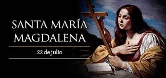 <!--:es-->HOY ES FIESTA DE SANTA MARÍA MAGDALENA, LA PRIMERA MUJER QUE VIO A CRISTO RESUCITADO<!--:-->