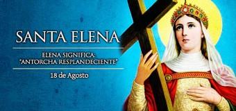<!--:es-->HOY CELEBRAMOS A SANTA ELENA QUE RESCATÓ LA SANTA CRUZ DE CRISTO<!--:-->