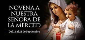 <!--:es-->HOY SE INICIA LA NOVENA A NUESTRA SEÑORA DE LA MERCED, PATRONA DE LOS PRESOS<!--:-->