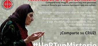 <!--:es-->FIESTA DE LA VIRGEN DEL ROSARIO: PIDEN REZAR UN MISTERIO POR LOS CRISTIANOS PERSEGUIDOS<!--:-->