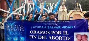 <!--:es-->MÉXICO: MIL VOLUNTARIOS REZARON 40 DÍAS ANTE CLÍNICAS DE ABORTO Y ESTO FUE LO QUE LOGRARON<!--:-->