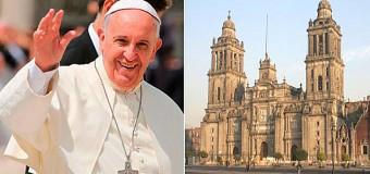 <!--:es-->PAPA FRANCISCO RECORRERÁ CALLES DE MÉXICO AL SON DE LAS CAMPANAS<!--:-->