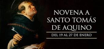 <!--:es-->HOY INICIA LA NOVENA A SANTO TOMÁS DE AQUINO, PATRONO DE LA EDUCACIÓN CATÓLICA<!--:-->