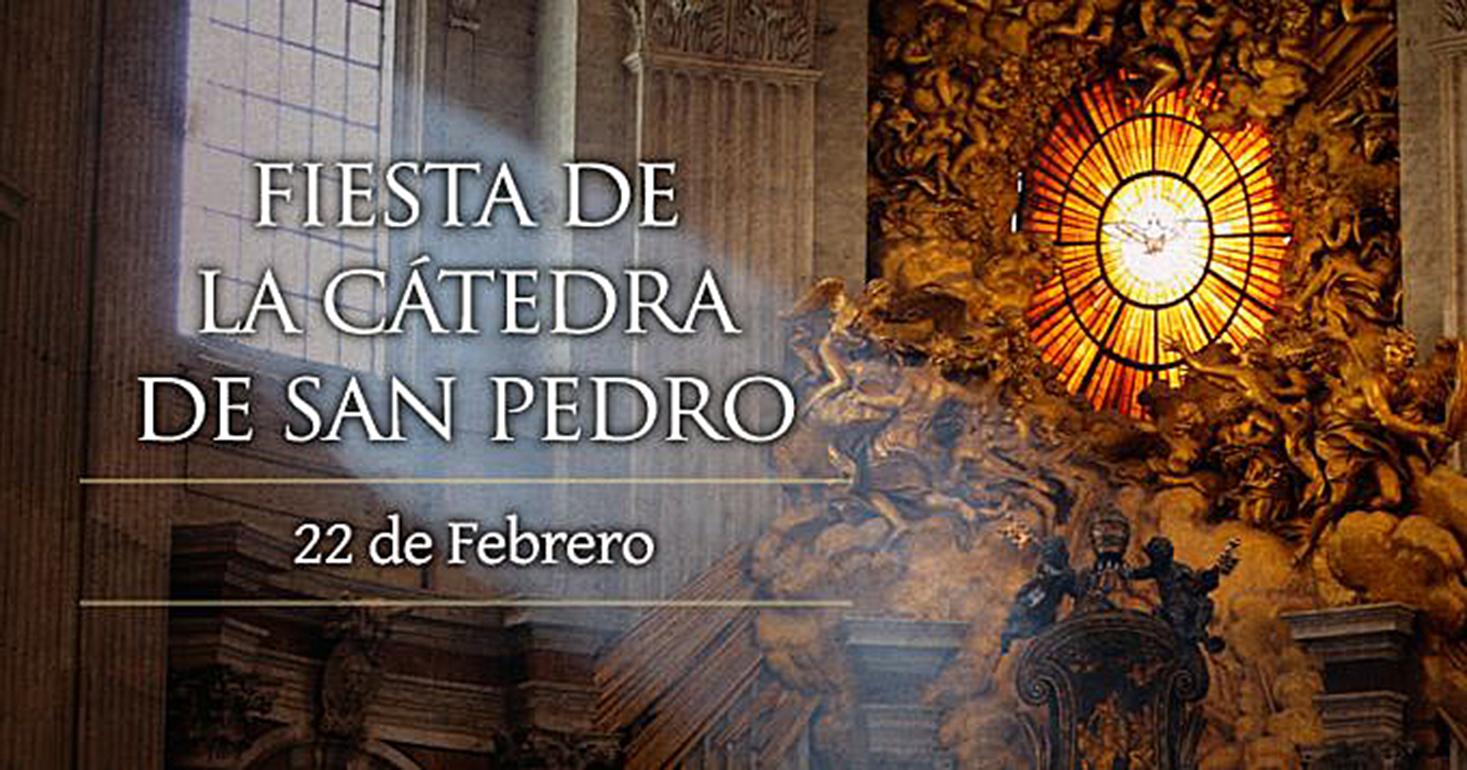 <!--:es-->HOY SE CELEBRA LA FIESTA DE LA CÁTEDRA DE SAN PEDRO<!--:-->
