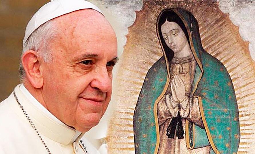 Resultado de imagen para celebracion de la virgen de guadalupe en el vaticano 2016
