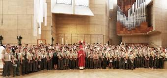 CELEBRAN UNA MISA ESPECIAL PARA 'BOYS Y GIRLS SCOUTS' EN LA CATEDRAL ANGELINA
