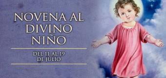 11 DE JULIO: INICIA LA NOVENA AL DIVINO NIÑO EN COLOMBIA