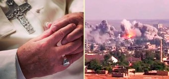 FIRME CONDENA DEL PAPA AL TERRORISMO: CUÁNTA MÁS OSCURIDAD MÁS ORACIÓN INSISTENTE
