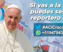 SI VAS A LA JMJ CRACOVIA 2016 PUEDES SER UN REPORTERO DE ACI PRENSA
