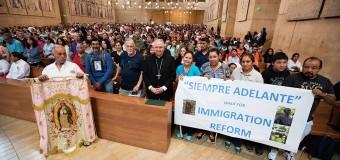 EL ESPÍRITU INMIGRANTE DE ESTADOS UNIDOS REUNIDO EN LA CATEDRAL DE LOS ÁNGELES