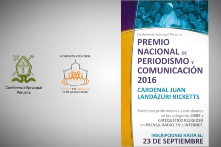PERÚ: LANZAN VÍDEO PROMOCIONAL DEL PREMIO DE PERIODISMO 'CARDENAL JUAN LANDÁZURI RICKETTS'