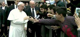 EL PAPA EN LA AUDIENCIA: 'AL MIRAR LAS ESTRELLAS CONFIAR EN LA PROMESA DE DIOS'