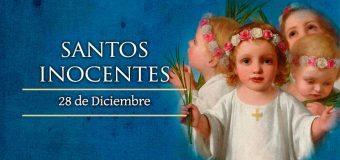 28 DE DICIEMBRE: DÍA DE LOS SANTOS INOCENTES, LOS NIÑOS QUE MURIERON POR CRISTO
