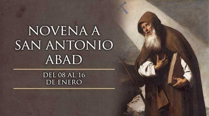 8 DE ENERO: INICIA LA NOVENA A SAN ANTONIO ABAD, ILUSTRE MONJE CRISTIANO