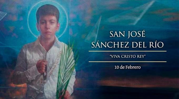 HOY ES LA FIESTA DE SAN JOSÉ SÁNCHEZ DEL RÍO, EL NIÑO CRISTERO QUE MURIÓ MÁRTIR