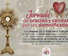 CARDENAL CIPRIANI CONVOCA A JORNADA DE ORACIÓN Y CARIDAD POR DAMNIFICADOS DE PERÚ