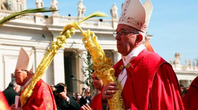 """EL PAPA EN DOMINGO DE RAMOS: JESÚS NO ES UN PROFETA """"NEW AGE"""" SINO EL MESÍAS VERDADERO"""