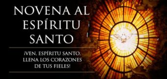 RUMBO A PENTECOSTÉS: COMIENZA LA NOVENA AL ESPÍRITU SANTO