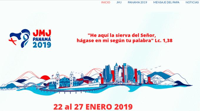 YA ESTÁ DISPONIBLE EL SITIO WEB OFICIAL DE LA JMJ PANAMÁ 2019