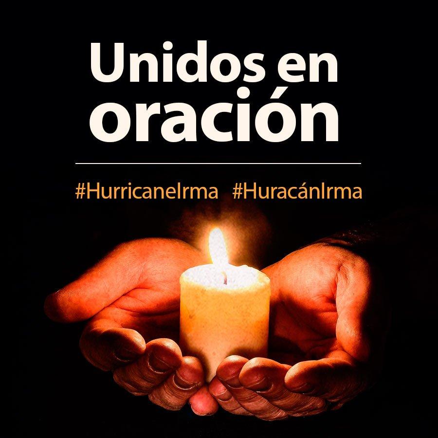 HURACÁN IRMA ALCANZA CATEGORÍA 5 Y ARQUIDIÓCESIS DE MIAMI PIDE ORACIONES