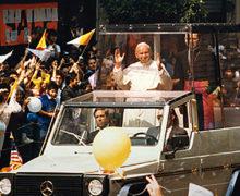 ESTA SEMANA SE CUMPLEN 30 AÑOS DE QUE ESTUVO AQUÍ SAN JUAN PABLO II