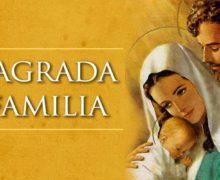 ¡FELIZ FIESTA DE LA SAGRADA FAMILIA!
