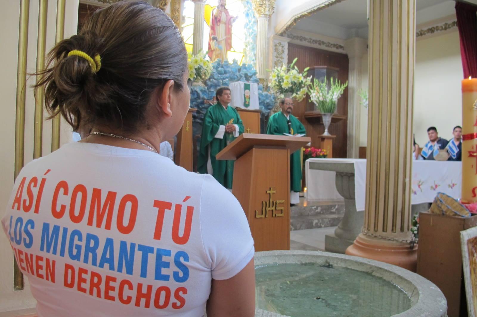 ASÍ ALIVIAN LOS ALBERGUES CATÓLICOS EL SUFRIMIENTO DE LOS MIGRANTES EN EL SUR DE MÉXICO