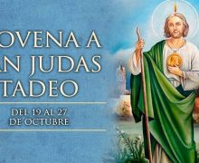 HOY SE INICIA LA NOVENA EN HONOR A SAN JUDAS TADEO