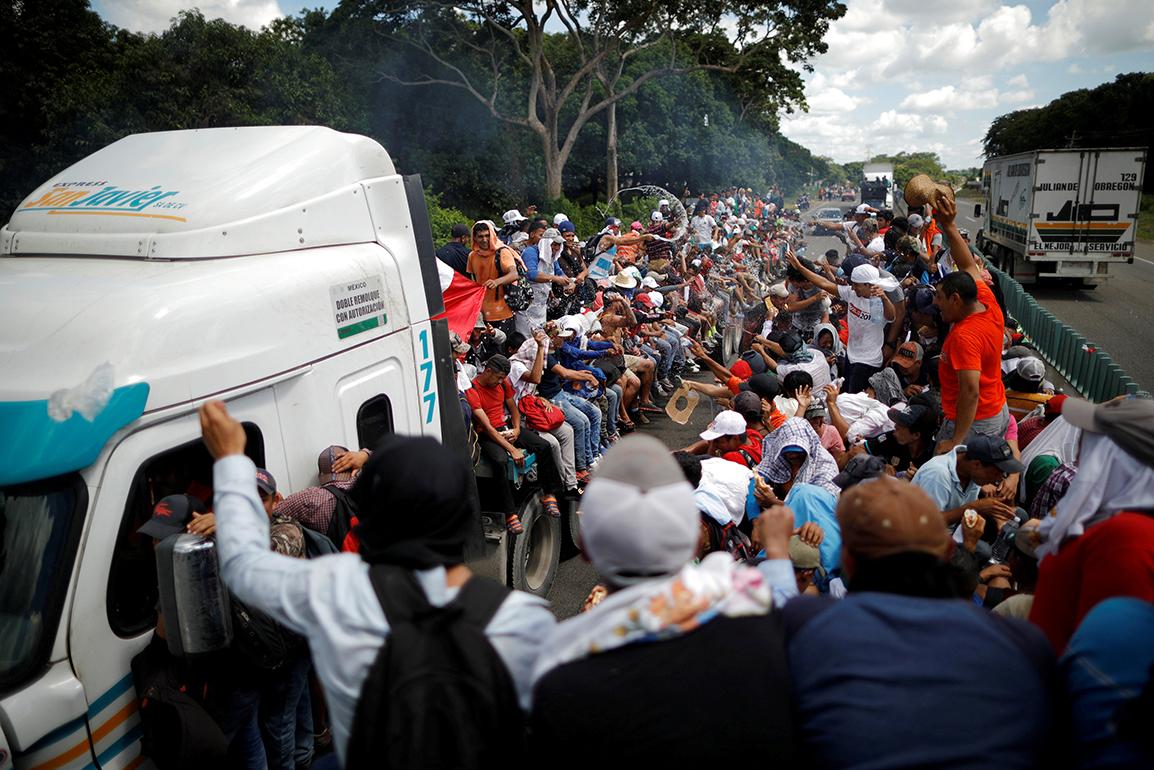 LA CARAVANA DE CENTROAMÉRICA: 'EN TIEMPO DE DUDA LA CARIDAD ES LA RESPUESTA'