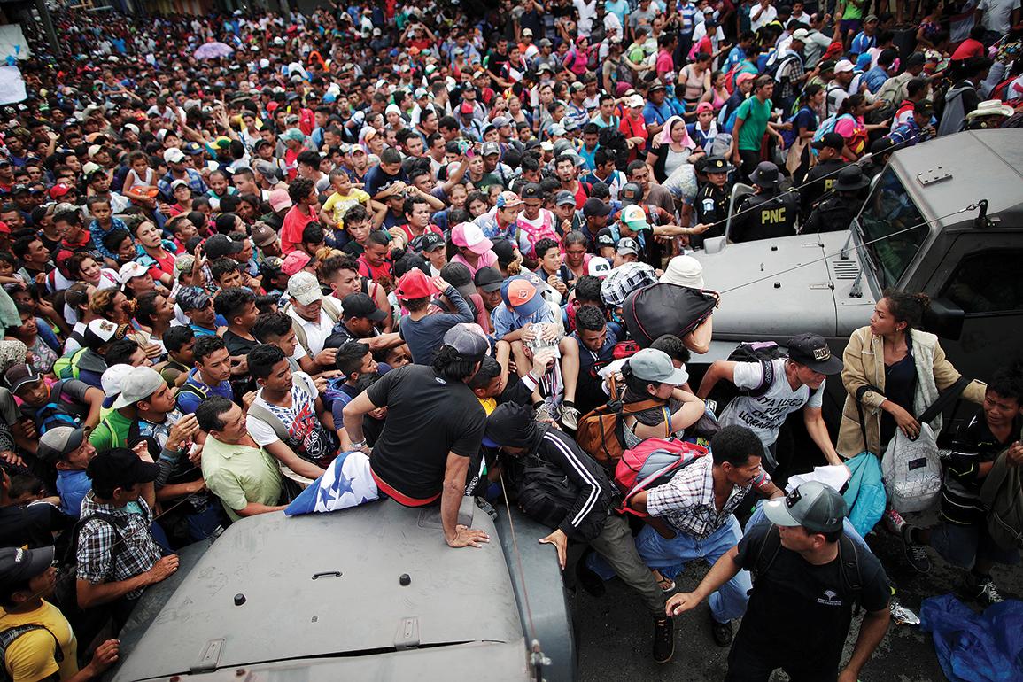 CARAVANA DE MIGRANTES: OBISPOS DE HONDURAS LAMENTAN 'TRAGEDIA HUMANA'