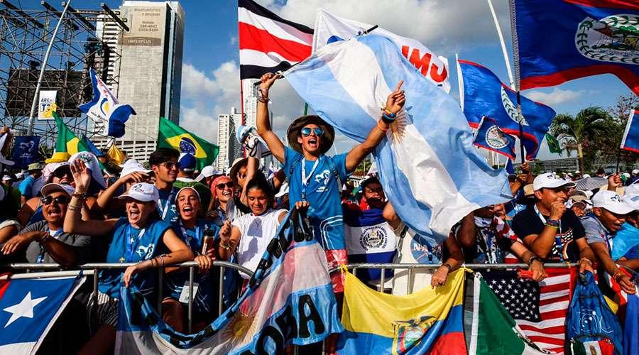 EL CORAZÓN DE LA IGLESIA LATE EN PANAMÁ: COMENZÓ LA JMJ 2019