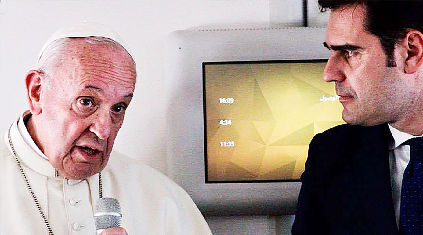 EL PAPA HABLA SOBRE LOS ABUSOS SEXUALES COMETIDOS POR SACERDOTES CONTRA RELIGIOSAS