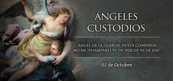 HOY CELEBRAMOS A NUESTROS PROTECTORES, LOS ÁNGELES CUSTODIOS