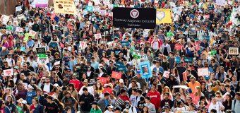 MÁS DE 30 MIL PERSONAS PARTICIPAN EN CAMINATA PROVIDA EN LOS ÁNGELES
