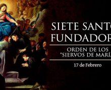 SE CONMEMORA A LOS SIETE SANTOS FUNDADORES DE LA ORDEN SIERVOS DE MARÍA