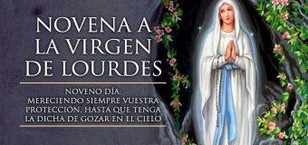 ARCOÍRIS DECORA EL CIELO DE LOURDES EN EL DÍA DE LA ANUNCIACIÓN