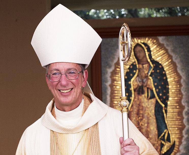 'QUE LA MANO SANADORA DE NUESTRO SEÑOR NOS TOQUE'   Por Monseñor MARC TRUDEAU