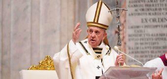 EL PAPA EN VIGILIA PASCUAL: HOY CONQUISTAMOS EL DERECHO A LA ESPERANZA, QUE VIENE DE DIOS