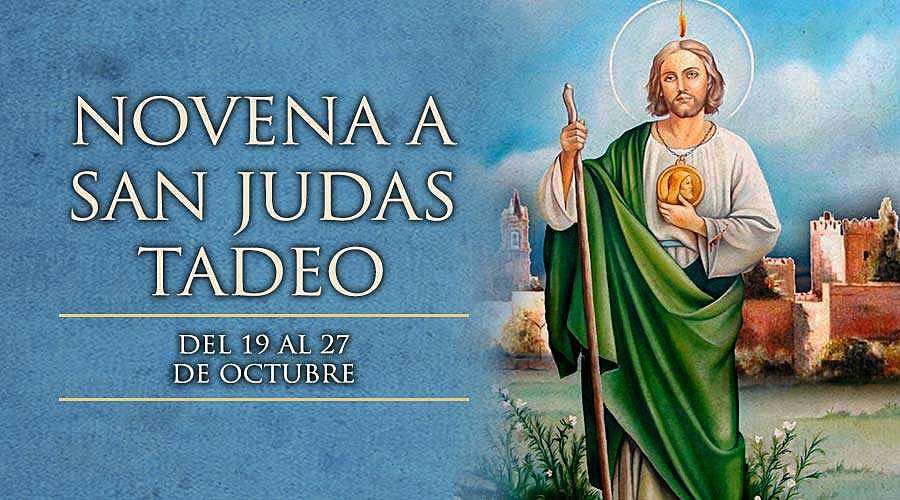 SE INICIA LA NOVENA EN HONOR A SAN JUDAS TADEO